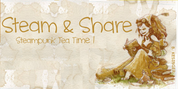 Steam and share steampunk tea time